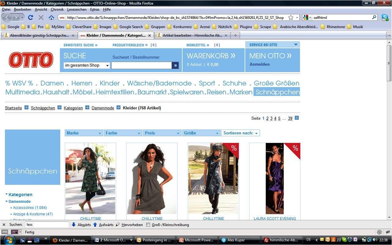 otto online shop Abbildung