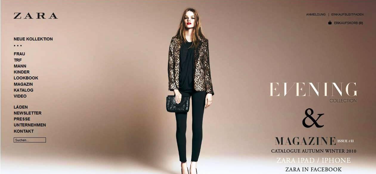 Zara – Online Shop Test   Himmlische Abendkleider • Die besten Shops ...