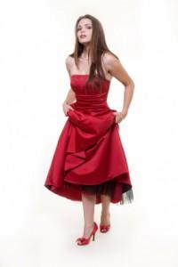abschlusskleider rot