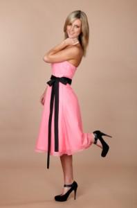 abschlusskleid rosa