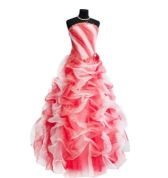 new style 88d61 65d81 Volantkleid | Himmlische Abendkleider • Die besten Shops ...