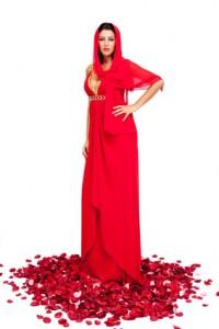 rote türkische abendkleider